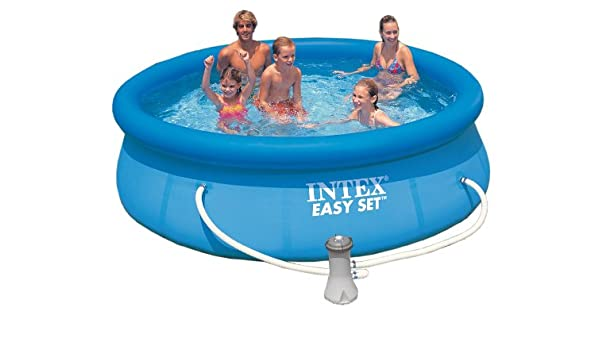 Piscina Easy set Intex 305 cm x 76 cm: Amazon.es: Juguetes y juegos