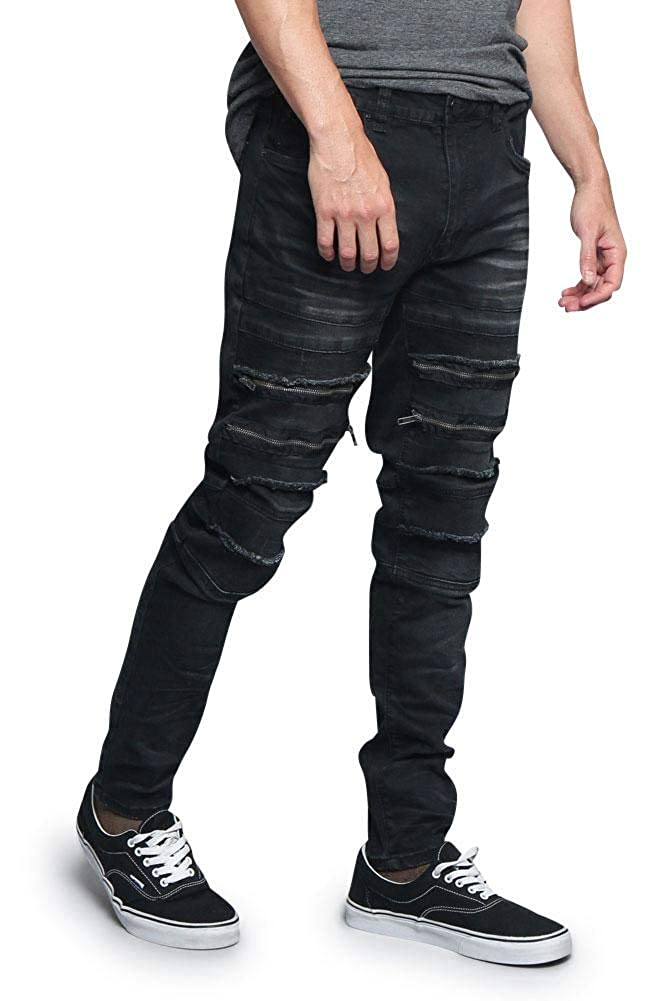 Victorious G-Style USA Zippered Biker Moto Style Bottoms