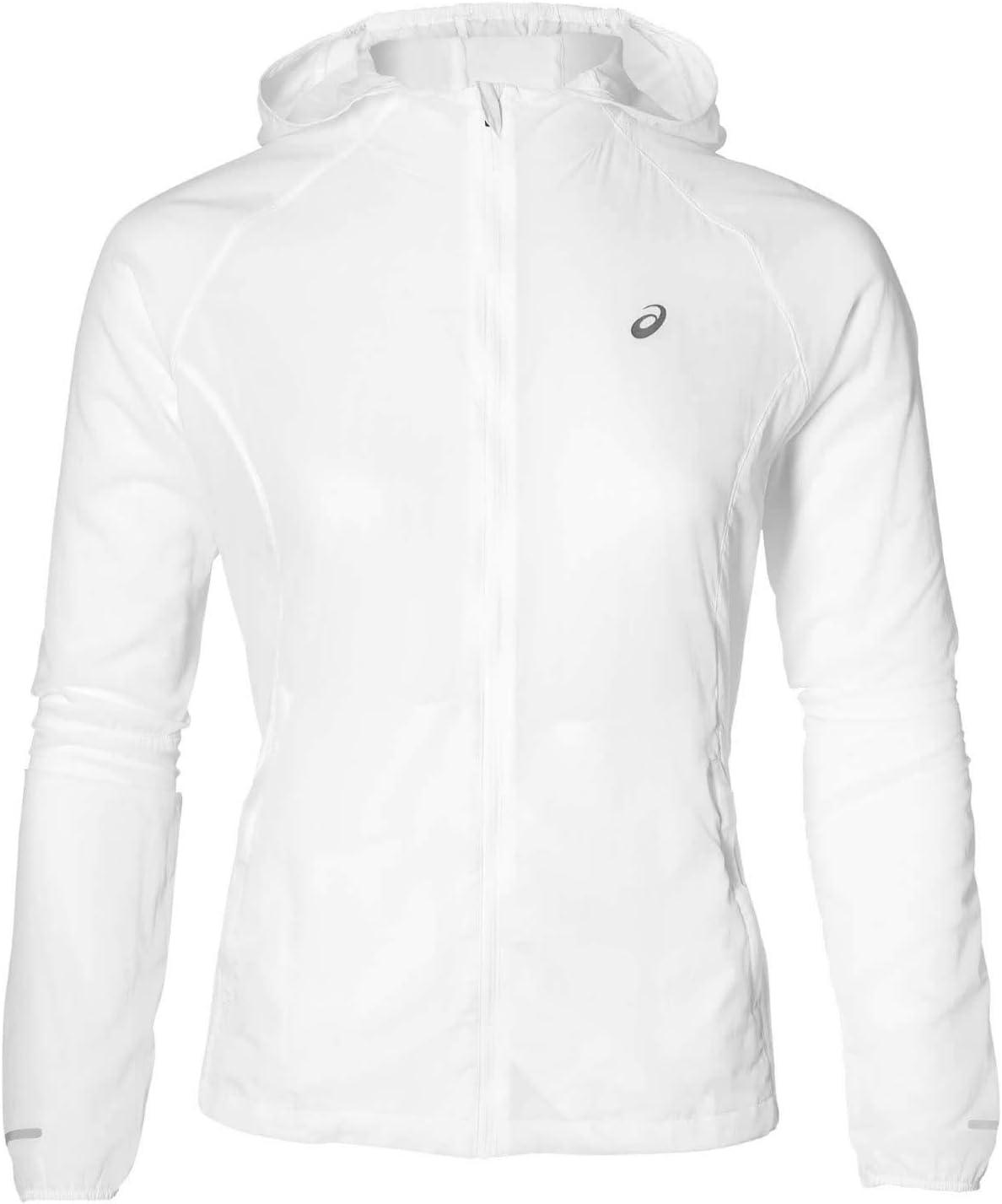ASICS Packable Trainingsjacke-Weiß, Silber Chaquetas, Mujer ...