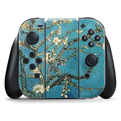 van-gogh-nintendo-switch-joy-con-controller-skin-almond-branches-in-bloom-vinyl-decal-skin-for-your-