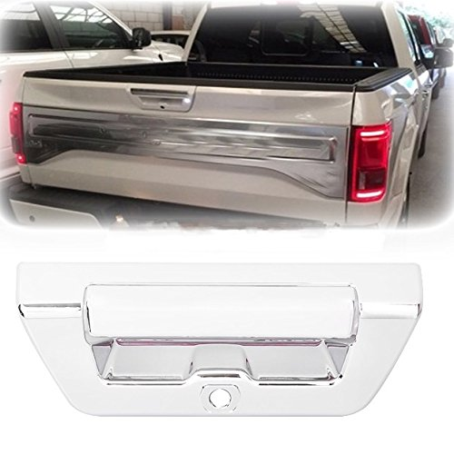 Brand New Triple Chrome ABS Rear Trunk Tailgate Handle Cover Trim w/Camera Hole For Ford F-150 F150 2015 2016