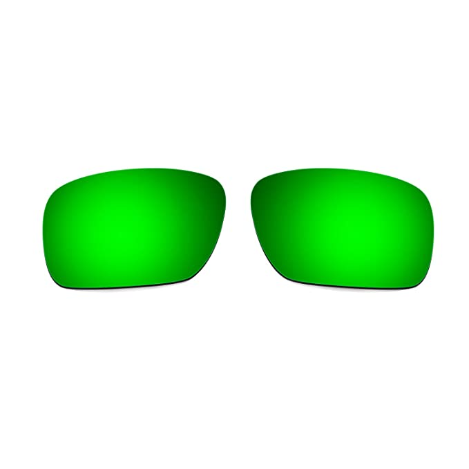 HKUCO Mens Replacement Lenses For Hepimtg8yz Flak Jacket 24K Gold/Emerald Green Sunglasses 636H2M3p