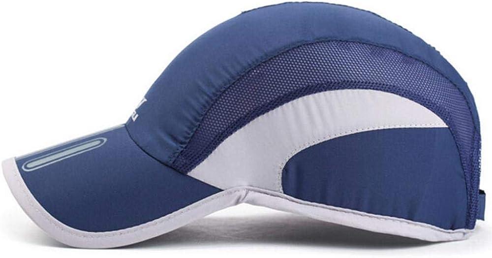 Krgvxfs Unisex Men Breathable Mesh Hats Baseball Cap Quick Dry Bone Snapback Male Drake Cap