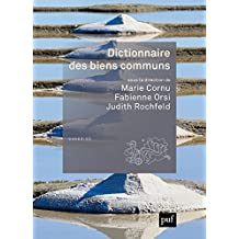 Dictionnaire des biens communs (Quadrige dicos poche) (French Edition)