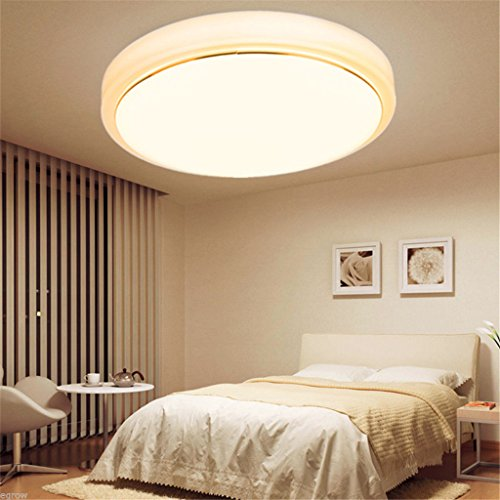18W Round LED Ceiling Light Fixture Lighting Flush Mount