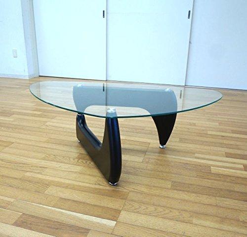 ガラステーブル イサムノグチ リプロダクト 黒 B01BVA3BMG