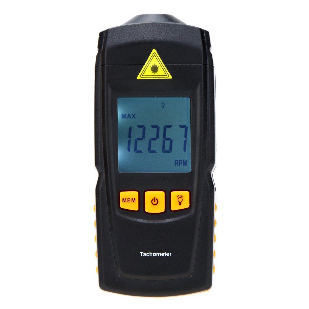 KKmoon デジタル回転計タコメーター 非接触型 GM8905