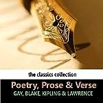 Poetry, Prose & Verse   William Blake,Rudyard Kipling