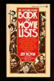 The Second Signet Book of Movie Lists, Jeff Rovin, 0451115163