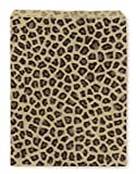 Paper Jewelry Bags 8.5 x 11 Leopard (Package of 100)