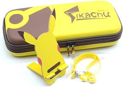 Funda de transporte para Nintendo Switch Pikachu Ear Tail Carry ...