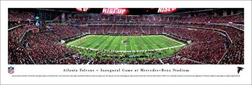 Atlanta Falcons 1st Game at Mercedes-Benz Stadium - Blakeway Panoramas Unframed NFL (1st Game)