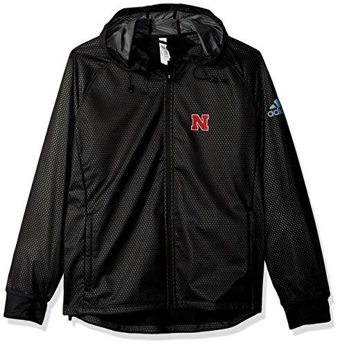 Nebraska Huskers Golf (NCAA Nebraska Huskers Adult Women Team Logo Climastorm Full Zip Jacket, X-Large, Black)