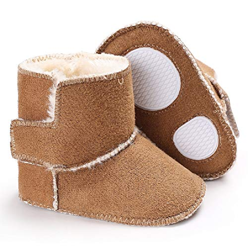 Pictures of Fnnetiana Toddler Snow Shoes Autumn Winter Warm 3