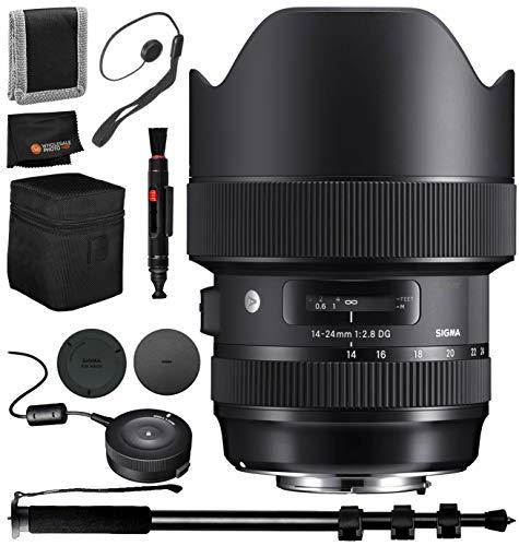 Sigma 14-24mm f/2.8 DG HSM Art Lens for Nikon F – 6PC Accessory Bundle by Sigma (Image #8)