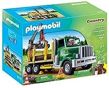 Playmobil Timber Truck Building Kit
