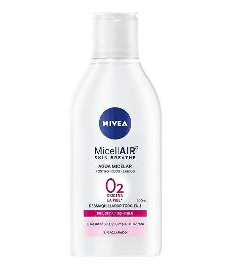 NIVEA Agua Micelar para Piel Seca - 400 ml