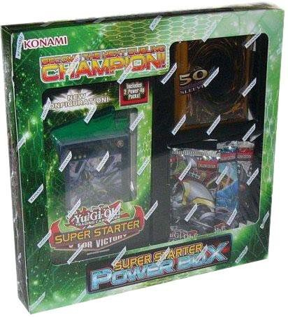 Yugioh Starter Deck V For Victory Power Box Bundle Lot W/ Sleeves & Booster (Order of Chaos Generation Force Hidden Arsenal 5)