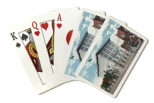 New Ymca Building (San Diego, California - Exterior View of the New YMCA Building (Playing Card Deck - 52 Card Poker Size with Jokers))