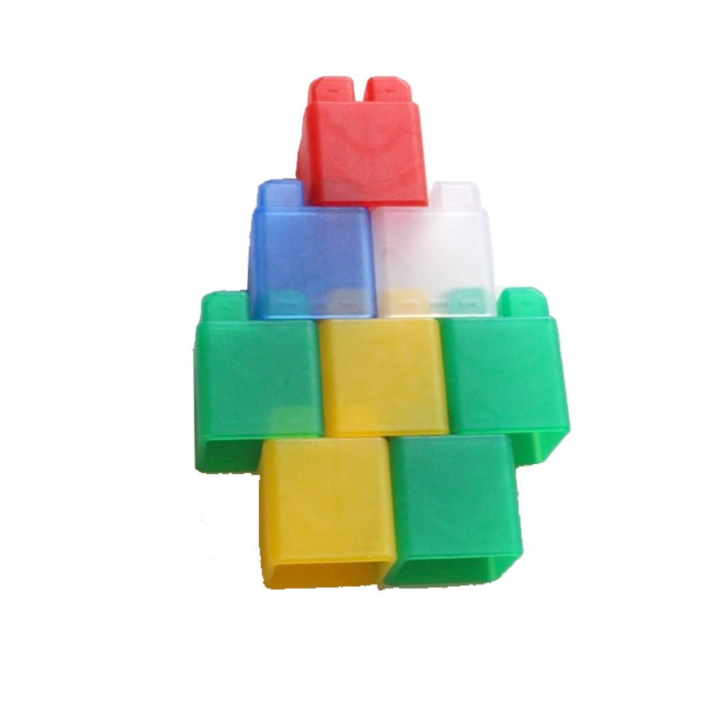 Co- block jelly Baby's first base block Baby shower Soft baby toys the 45pcs.