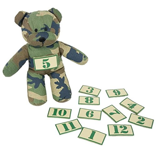 TBG Tactical Teddy and Number Patch Set by Tactical Baby Gear