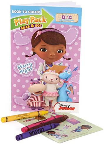 Amazon.com: Disney Doc McStuffins para colorear Grab N Go ...