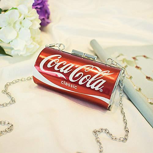 Solo 128 9 la Y Bandolera cm Cadena DE 6 YT 12 9 Hombro Bolsos señora 6cm Cola de Bolsa awq8ZxSp