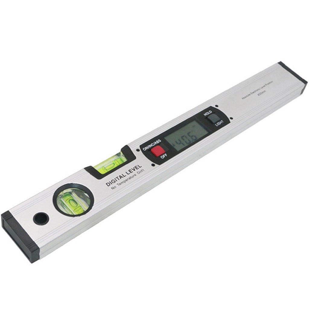 PETSOLA Inclin/ómetro Digital Electr/ónico Buscador De /ángulos Medidor Pendiente Calibrador Nivel 0~360 /°