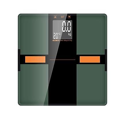 Balanzas electrónicas LCSHAN Básculas electrónicas para el hogar Básculas para pesaje para Adultos Bajar de Peso