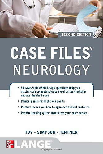 Prism Blue Pearl - Case Files Neurology, Second Edition (LANGE Case Files)