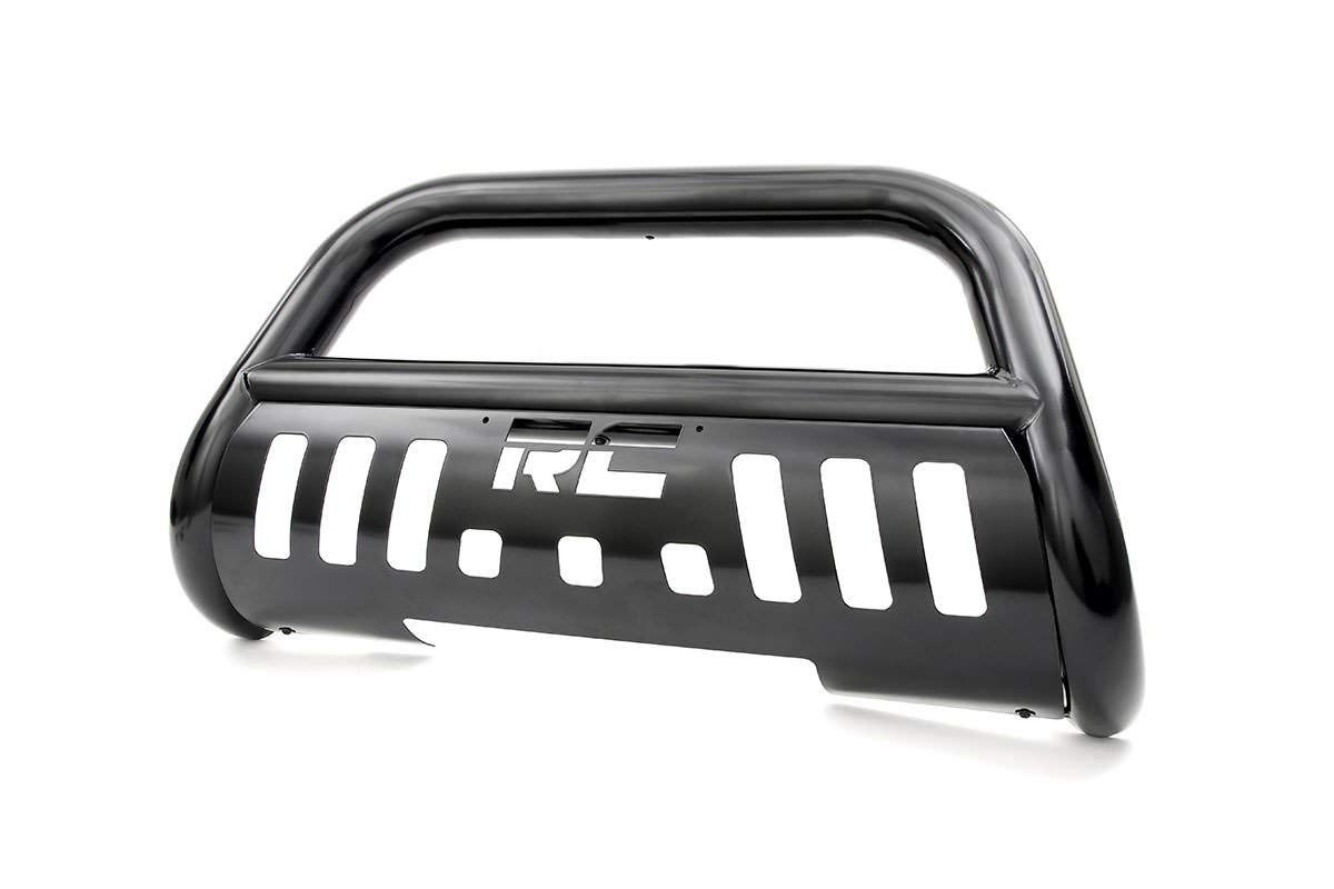 Rough Country - B-D2091 - Black Bull Bar for Dodge: 09-10 Ram 1500 4WD/2WD; Ram: 11-18 1500 4WD/2WD