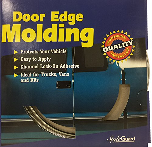 Style Guard Chrome Door Edge Molding (3/8″ x 10ft)