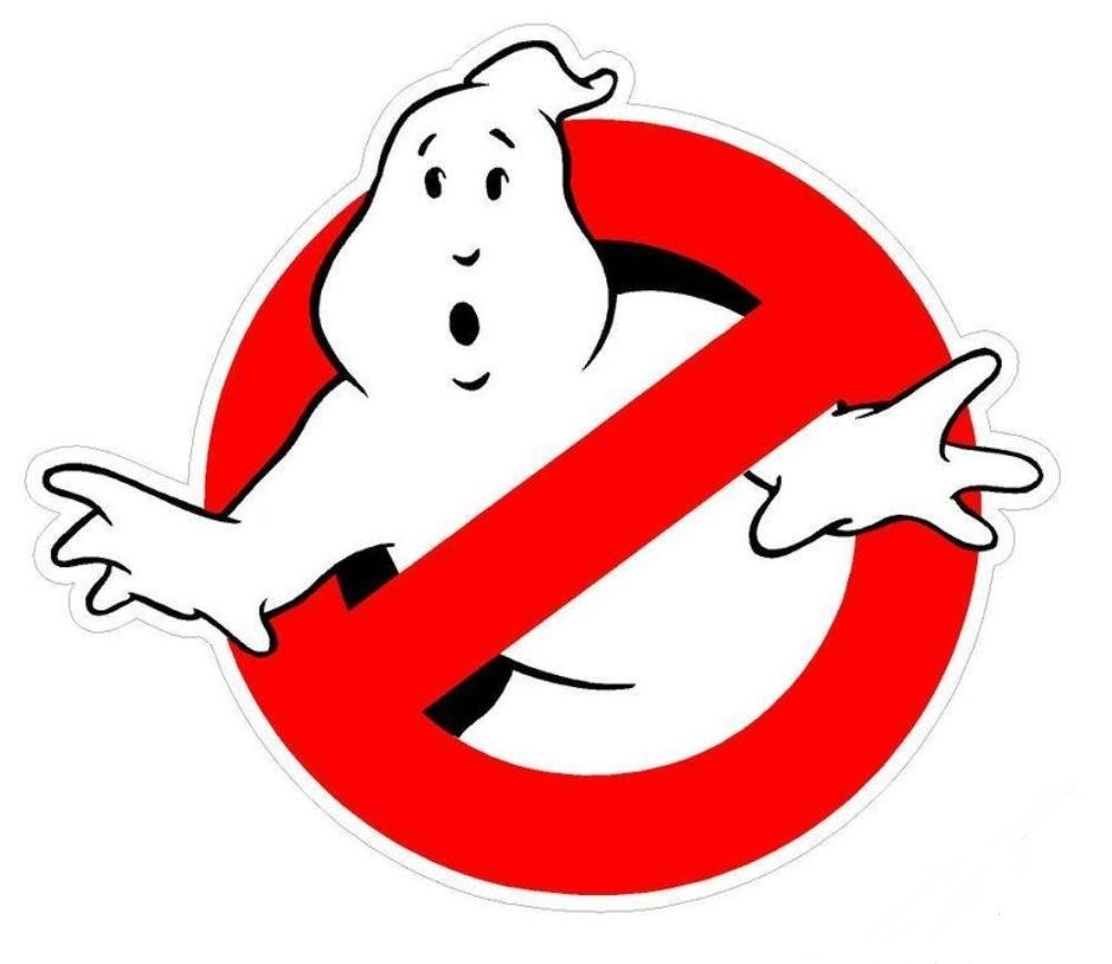 Amazon com ghostbusters logo vinyl 5 sticker toys games