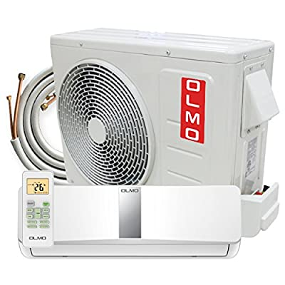 OLMO Wall Mount Mini Split Air Conditioner Ductless Heating Cooling Inverter Heat Pump