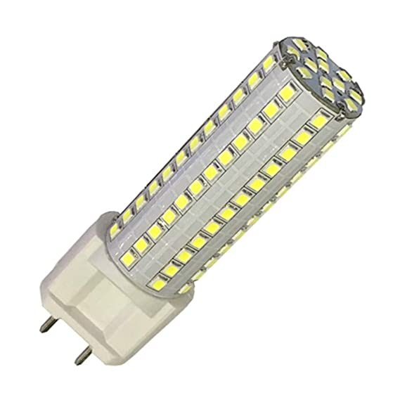 OMTO G12 2835SMD 108led 12W AC85V-265V Led Bulbs Lampada Bombillas lamp Corn Lights Ultra Bright 362 Degree Beam Angle (White, 15W) - - Amazon.com