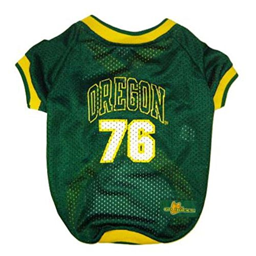 [Mirage Pet Products Oregon Ducks Jersey for Dogs and Cats, Medium] (Duck Costumes For Dog)