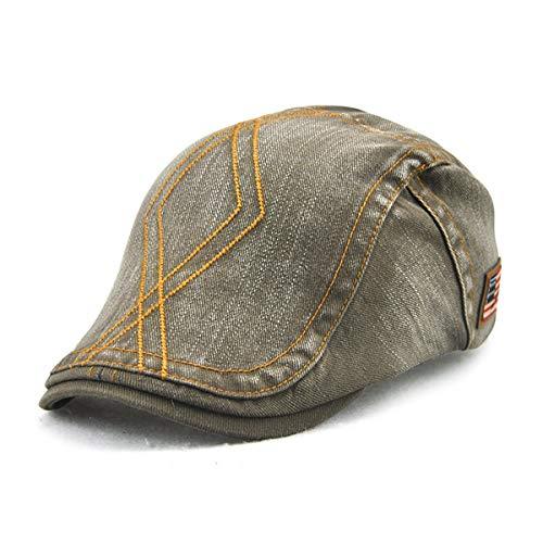 Sombrero Tela qin de GLLH Cruzada hat F de Pato Sombreros los Salvaje Moda de B en Pato Hombres Sombrero Diamante la la Sombrero de de Forma de qw78Xnr7d