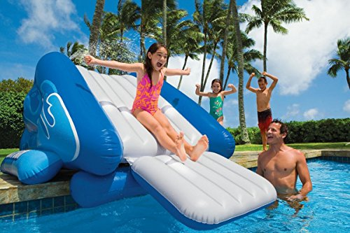 Kool Splash Inflatable In Ground Pool Waterslide