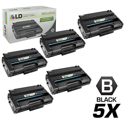 Remanufactured Replacements for Ricoh 406989 5PK HY Black Ca