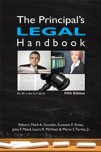The Principal's Legal Handbook (N O L P E Monograph Series)