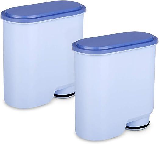 4 PCS Tikola Filtro de Agua para cafeteras Philips y Saeco Filtro AquaClean CA6903