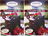 Namaste Foods Chocolate Cake Mix, 26 oz, 2 pk