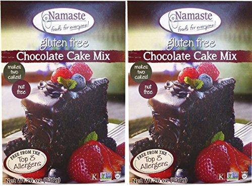 Namaste Foods Chocolate Cake Mix, 26 oz, 2 pk