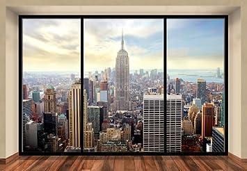 Wall Mural NEW YORK CITY SKYLINE PENTHOUSE photo wallpaper