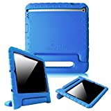 Fintie iPad 2/3/4 Kiddie Case - Light Weight Shock Proof Convertible Handle Stand Kids Friendly for Apple iPad 4th Generation With Retina Display, the iPad 3 & iPad 2 - Blue