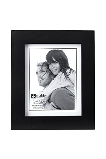Amazoncom Malden 4x5 Picture Frame Wide Real Wood Molding Real