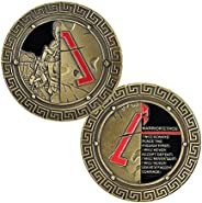 BHealthLife Spartan Warrior Ethos Challenge Coin Collection Military Gift