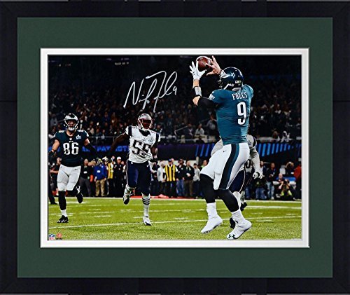 Framed Nick Foles Philadelphia Eagles Super Bowl LII Champions Autographed 16