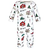 Hudson Baby Unisex Baby Cotton Coveralls, North
