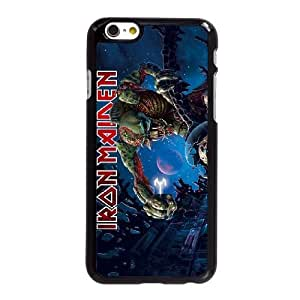 iPhone 6S 4.7 Inch Cell Phone Case Cover [Color Black] Iron Maiden [Theme] iPhone 6S 4.7 Inch Cover HJ7246